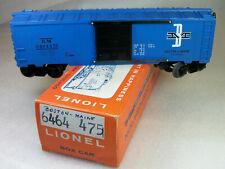 LIONEL POSTWAR RARITY  6464-475 B&M BOX CAR GRAY MOLD PART BUILT DATE MINT 68 OB
