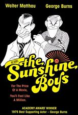 The Sunshine Boys DVD (1975) - Walter Matthau, George Burns, Herbert Ross
