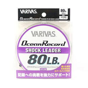 Varivas Nylon Ocean Record Shock Leader Line 50m 80lb (9761)