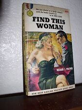 Find This Woman by Richard Prather (Gold Medal #489,4'th Print.Apr.1957,PB)
