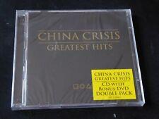 China Crisis - Greatest Hits NEW SEALED CD & DVD WISHFUL THINKING BLACK MAN RAY