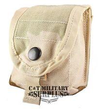 Desert Single Hand Grenade Pouch USGI 3 Color Desert Hand Grenade Pouch
