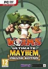 Worms Ultimate Mayhem Deluxe Edition - PC - Brand New & Sealed