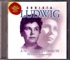 Christa LUDWIG: A 70th Birthday Tribute Classic 1964 Recording Strauss Wagner CD
