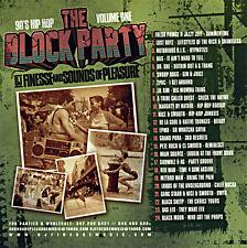 DJ Finesse Block Party & Park Jams (Mix CD) Old School Hip Hop R&B Mixtape