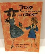 1965 American Character Tressy & Cricket Doll Clothes, Hair & Cosmetic Booklet