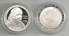 USA: Silber Dollar 2006, Benjamin Franklin, Staatsmann, Proof, PP