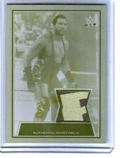 WWE Jack Swagger 2014 Road WrestleMania Event Used Shirt Printing Plate Card 1/1