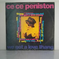 """Ce Ce Peniston – We Got A Love Thang (Vinyl 12"""", Maxi 33 Tours)"""