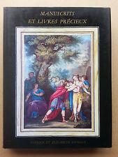 Librairie Sourget manuscrits et livres précieux catalogue N° IX 1992 +liste prix