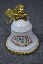 Weihnachtsglocke, Porzellan, Limoges Castell, Glöckchen fürs Christkind