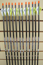 Easton Aftermath 340 Arrows - Blazer Vanes- Dozen - Cut to length FREE!