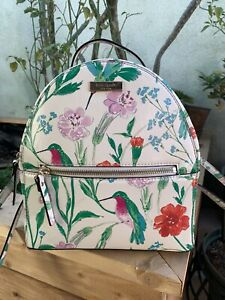 Kate Spade Hummingbird Leather Backpack $299