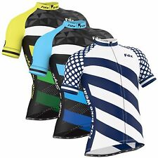"FDX Mens ""Limited Edition"" Cycling Jersey Short sleeve Breathable Biking Top"