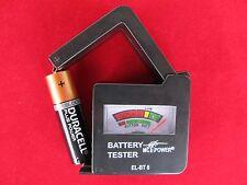 "Batterietester McPower ""EL-BT 6"" für AAA, AA, C, D, 9 V Batterien"