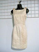 Gold Sheath Dress in Size Junior Medium ~ Chic Retro Look Party Dress