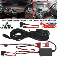 Micro USB DC Car Charger Hard wire Kit for In Car Dash Cam NEXTBASE 522 GW