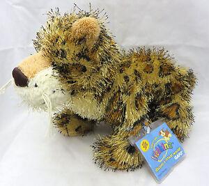 Webkinz LEOPARD Cat Plush Stuffed Animal Ganz Jungle Toy Girl Boy Jaguar code