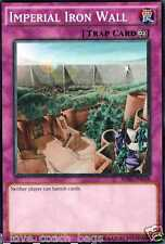 Imperial Iron Wall 1st SDSE-EN038 X 3 Mint yugioh Cards