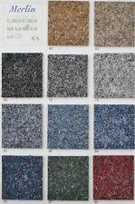 Teppichboden Nadelvlies Nadelfilz , Titanium, Objekt-geeignet Farbe 40 Rot