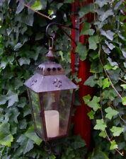 Lanterne avec console murale ancien NOSTALGIE style maison de campagne métal