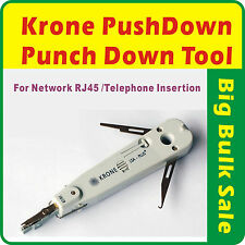 Punch Push Down Tool Krone IDC Network RJ45 Lan Cat5e Cat6/Telephone Insertion