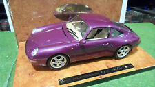 PORSCHE 911 Carrera 1/18 BURAGO EXECUTIVE 3760 voiture miniature made in Italy