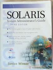 SOLARIS - SYSTEM ADMINISTRATOR'S GUIDE - JANICE WINDSOR - EN INGLES - VER ÍNDICE