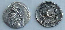 Parthian Kingdom. Mithradates II (123-88 B.C.)  AR silver drachm!