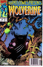 1991 Marvel Comics Presents #91 Wolverine Ghostrider Cable