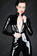 3451 Latex Gummi Rubber Catsuit bodysuit customized suit rompers unitard 0.4mm
