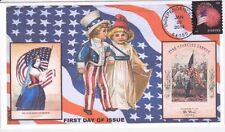 Flags, National Emblems $1 US First Day Covers (2001-Now)