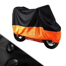 XXXL Large BL/OR Motorcycle Cover For Harley H-D Electra Glide Classic FLHTC