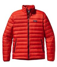 NWT Mens Turkish Red Patagonia Down Sweater Puff Jacket 800 fill Goose Size L