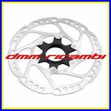 Disco Freno Bici MTB SHIMANO DEORE SM-RT64M 180 Center Lock anteriore posteriore