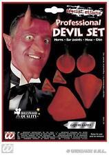 Maquillage de scène diable pour déguisements et costumes