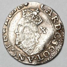 1637 To 1642 King Charles I SCOTLAND GREAT BRITAIN Silver Twenty Pence 20P coin
