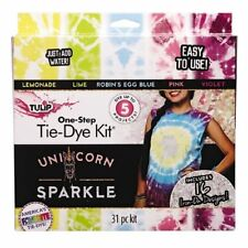 Tulip Unicorn Sparkle Tie Dye Kit - Multicoloured