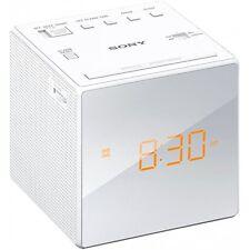 Sony icf-c1w VHF orologi Radio Radio Sveglia würfeluhr LED-Display snooze VHF