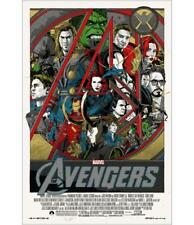 The Avengers - Tyler Stout Mondo Poster / Screen Print - New / MINT