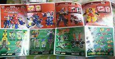Transformers JAPAN TAKARA ARMADA CATALOG BROCHURE BOOKLET ONLY 2003