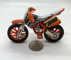 2003 HOT WHEELS MX HEDZ TROY LEE DESIGNS RED Honda #25 SX MOTO, Loose, RARE!