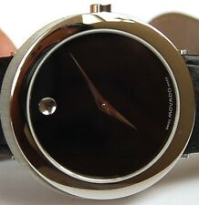 AWESOME MEN'S MANS MOVADO CAPELO WATCH PERFECT SHAPE SAPPHIRE CRYSTAL ORIG. BND