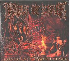2- CD Import - Cradle of Filth - Lovecraft & Witch Hearts - UPC 5016583128524
