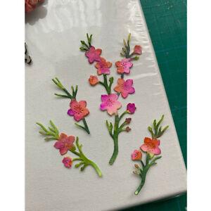 Flowers Metal Cutting Dies Scrapbooking Album Embossing Paper Card Making Craft