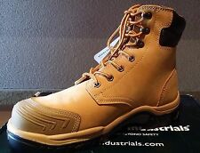Bata Safety Boot | Steel Cap High Leg Lace Up | Wheat | Hero 502 | Brand New
