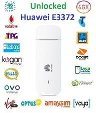 New *Unlocked* Huawei E3372 4G USB Modem w/Antenna ports(Optus/Telstra/Vodafone)