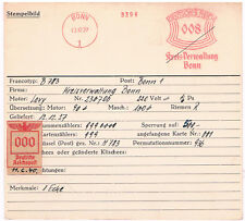 Kreis Verwaltung Bonn 1927 AFS Archivkarte Unikat