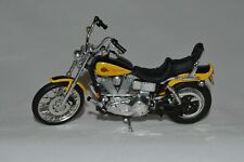 Maisto Harley Davidson Motorcycle 1:18 Yellow and Black