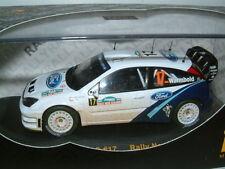 "1/43 FORD FOCUS WRC,2005 RALLY NEW ZEALAND, #17 WARMBOLD ""DIRTY"", IXO RAM189"